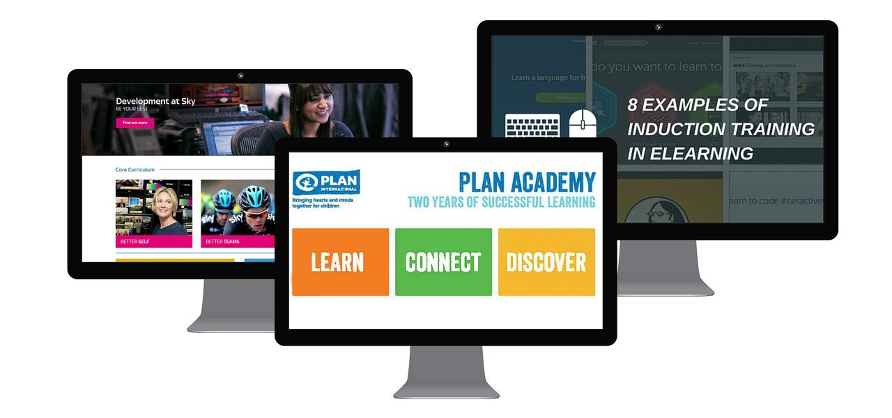 Elearning inspiration: Sky's Global LMS, Plan Academy platform, 8 induction elearning examples