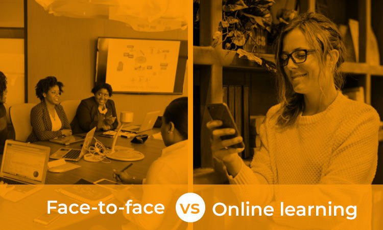 Online learning vs face to face learning: why you should make the switch