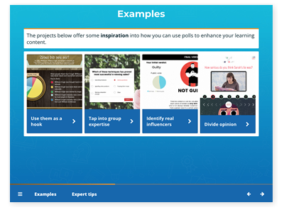 masterclass elearning examples