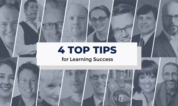 4 top tips from industry experts for learning success