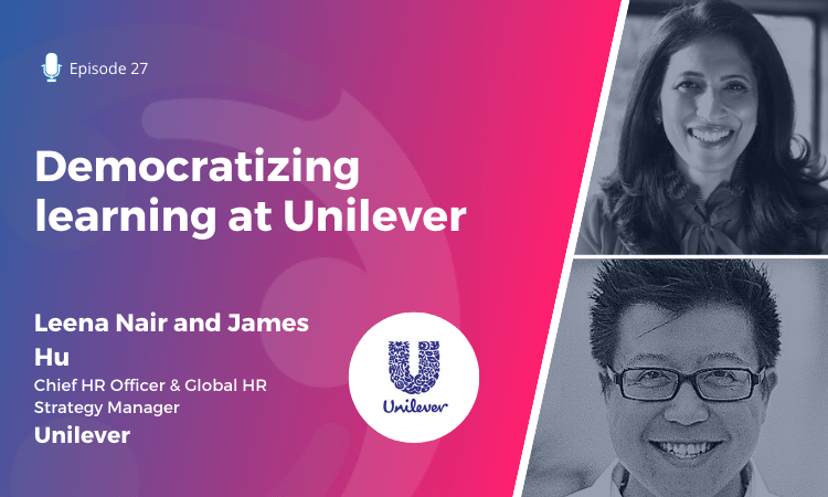 Democratizing learning at Unilever
