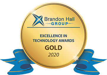 Elucidat Brandon Hall Gold Award 2020