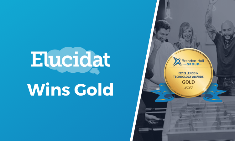 Learning Accelerator wins Brandon Hall Gold medal, in content authoring excellence awards